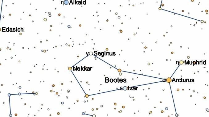 constelacion de bootes