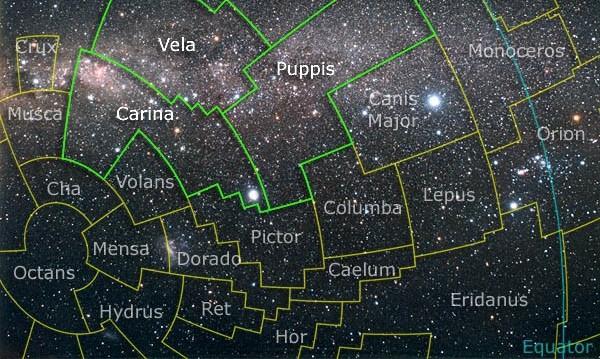 Constelación de Carina