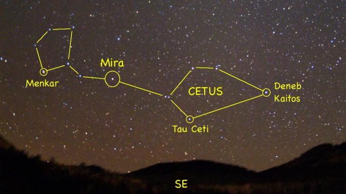 Constelación de Cetus