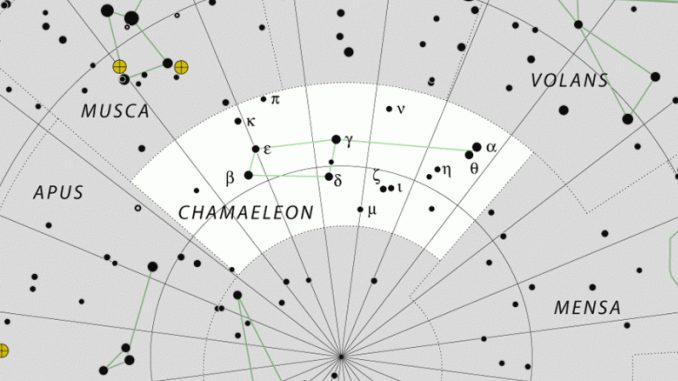 Constelación de Chamaleon