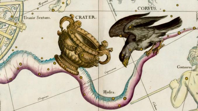 constelacion de corvus