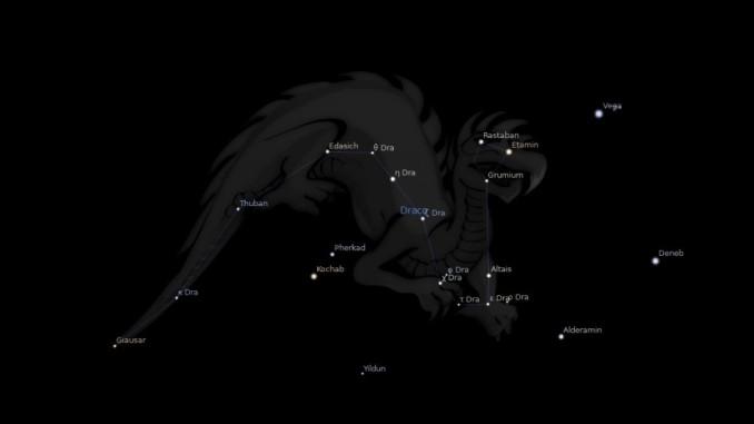 constelacion de draco