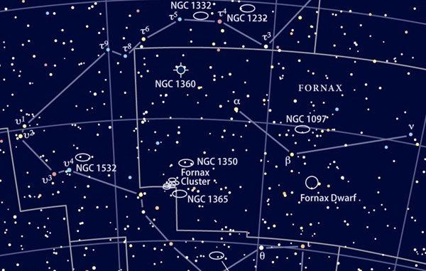Constelación de Fornax