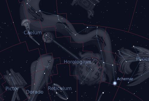 Constelación de Horologium