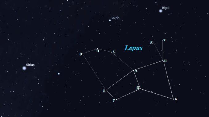 Constelación de Lepus