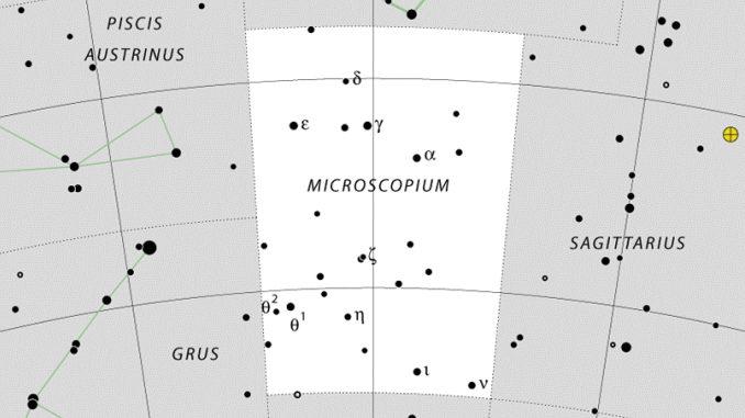 Constelación de Microscopium