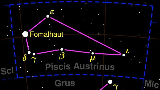 constelacion de piscis austrinus