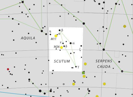 Constelación de Scutum