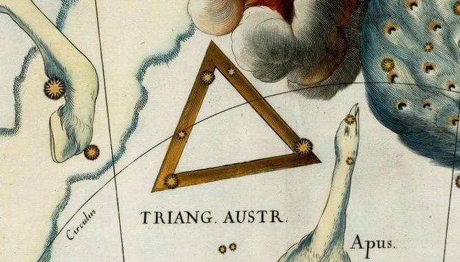 Constelación de Triangulum